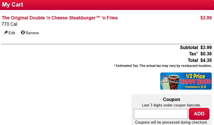 Steak 'n Shake Coupon 01