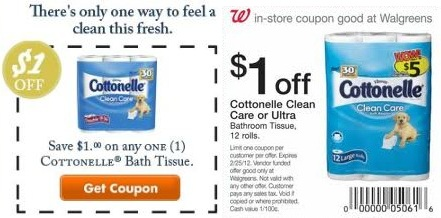 Cottonelle Coupons 01