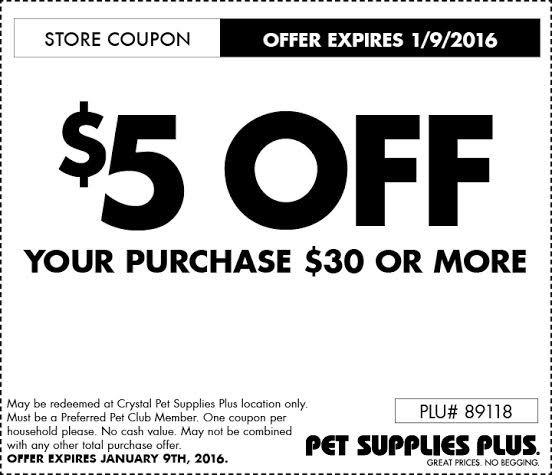 Pet Supplies Plus Coupons 01