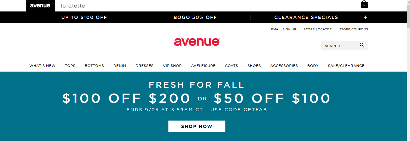 Avenue Coupons 02