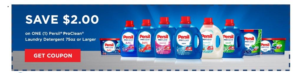 Persil ProClean Coupons 01