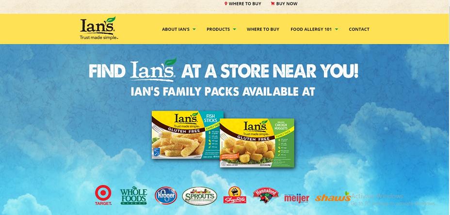 Ian's Natural Foods Coupons