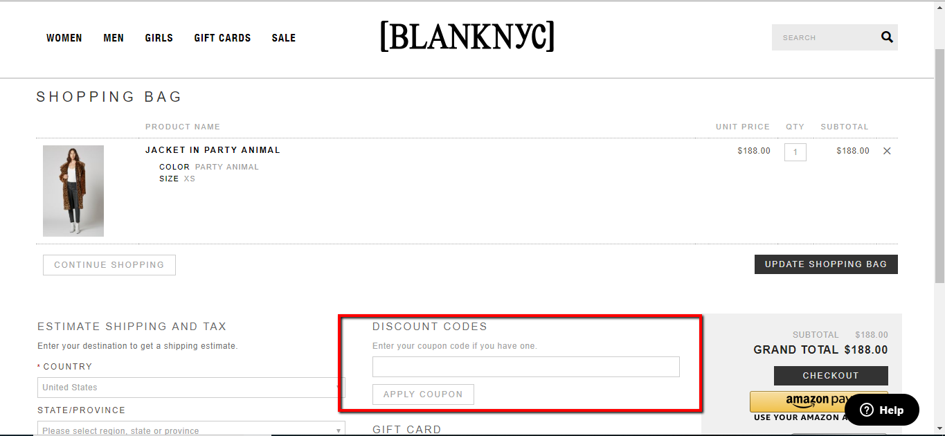 BlankNYC Coupons