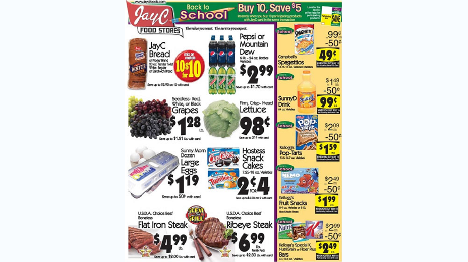 Jay C Foods Coupons