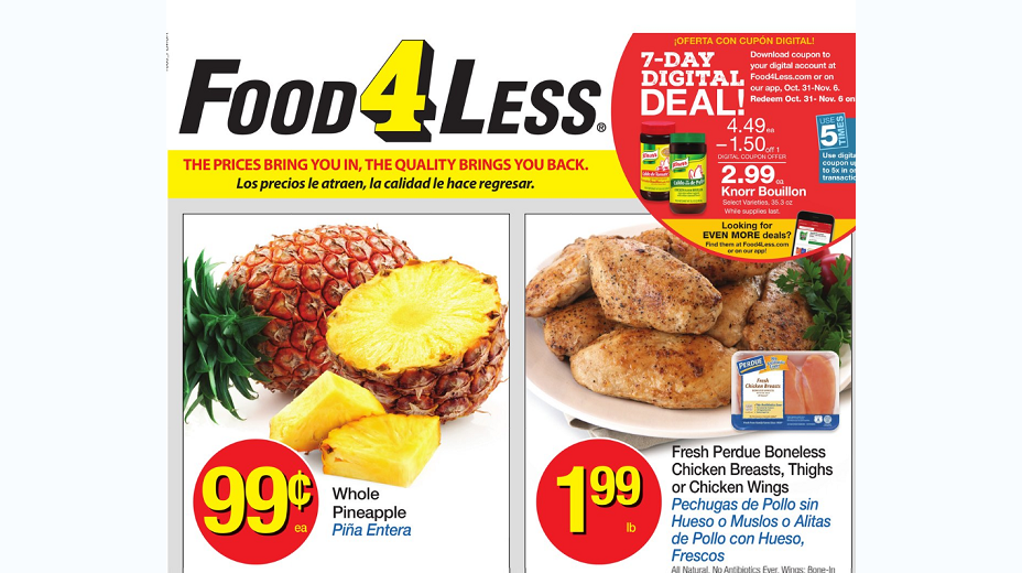 Food 4 Less Coupons