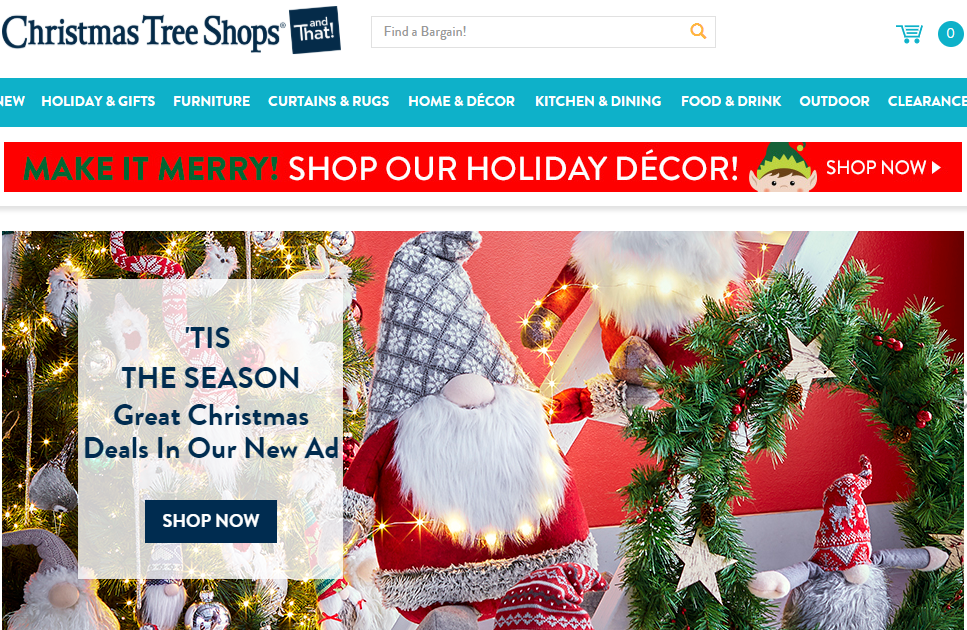 Christmas Tree Shops andThat! Coupons